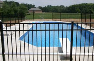Swimming Pool Fence For Above Ground And In Ground Pools Pool Mart